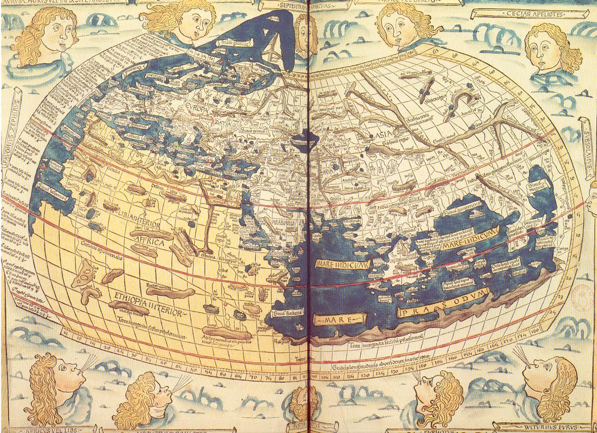 初期の世界地図