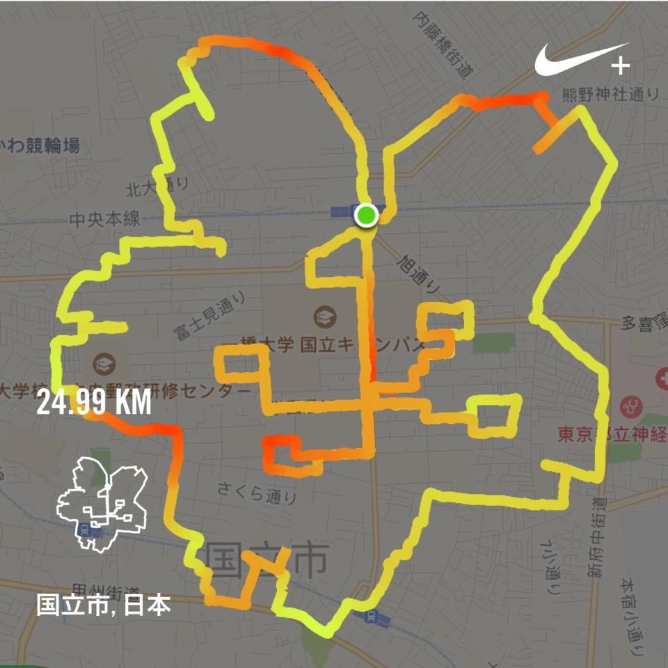 桜のGPSアート