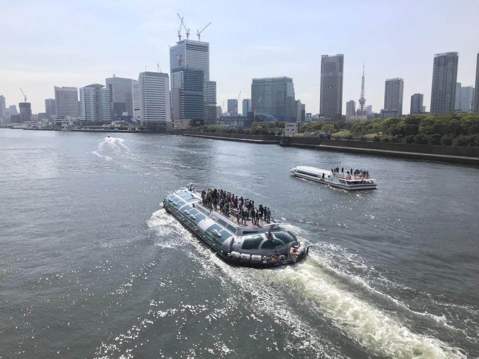 隅田川クルーズ船「ホタルナ」