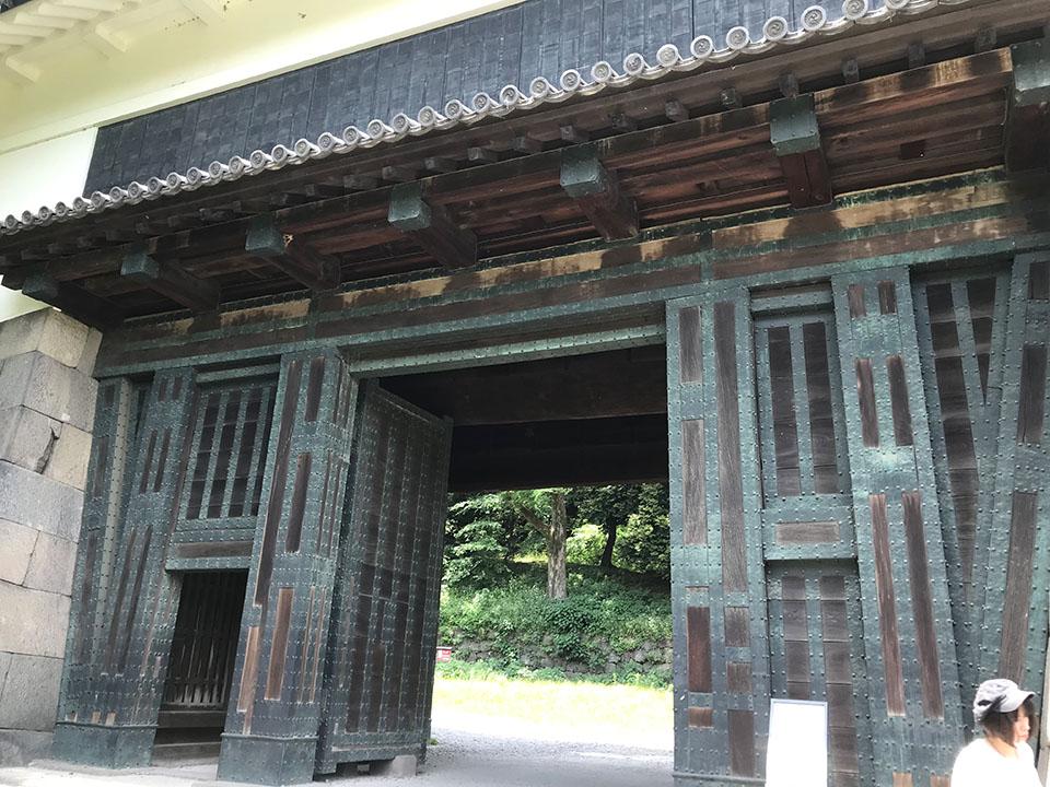 北の丸公園清水門