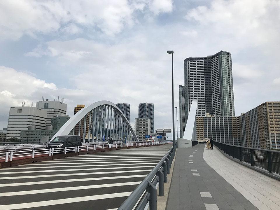 築地市場の裏にある橋