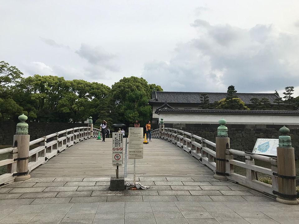 皇居北側の平川門