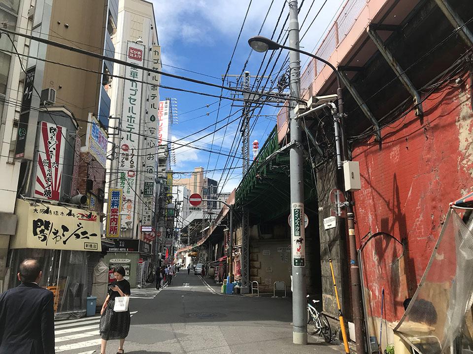 新橋駅・日比谷口