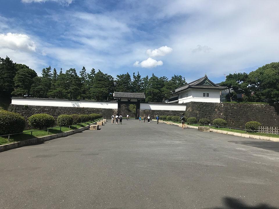 皇居「桜田門」