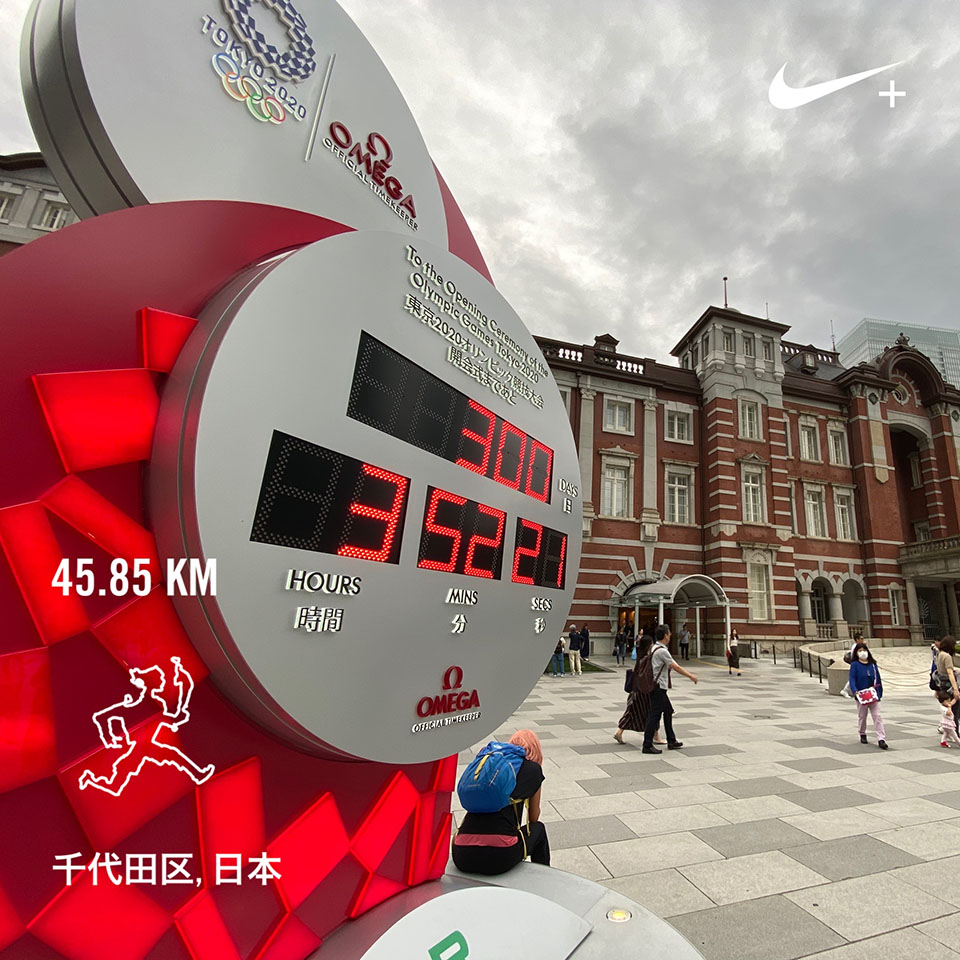 東京駅のカウントダウン時計