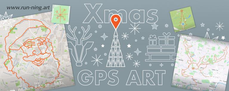 Xmas GPS Art