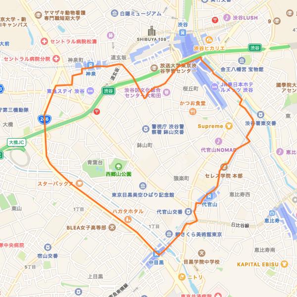 中目黒ハートRUN