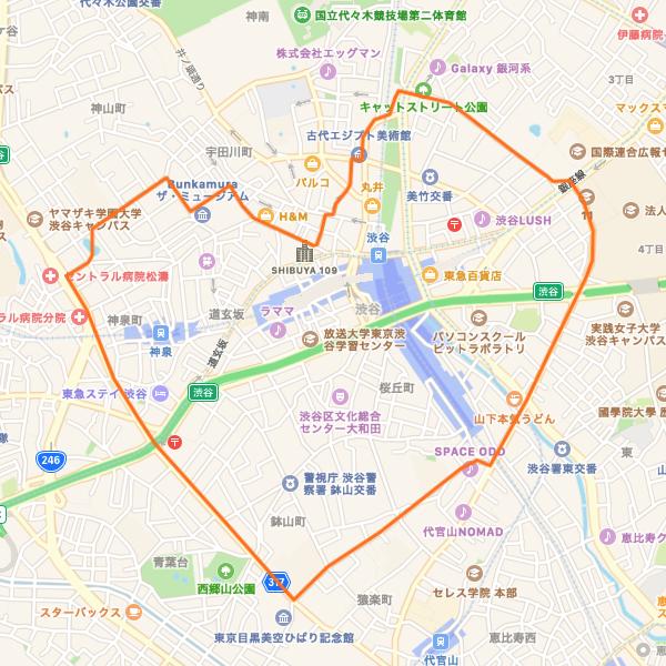 渋谷ハートRUN